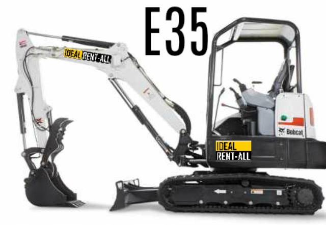 Where to find Excavator, Bobcat E35 w Thumb, 7500lbs in Mount Vernon