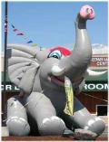 Where to rent 25  Circus Elephant Inflatable in Mount Vernon WA