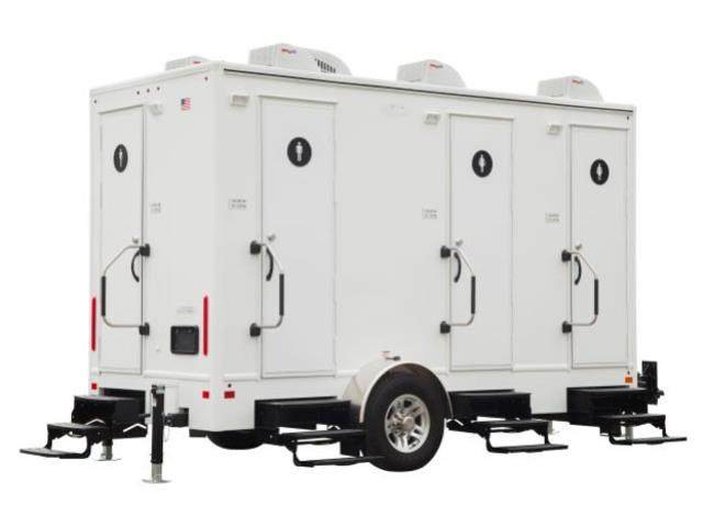 Where to find Restroom Trailer, 4 Station in Mount Vernon