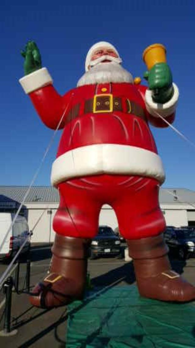 Where to find Santa Claus - 25  Inflatable in Mount Vernon