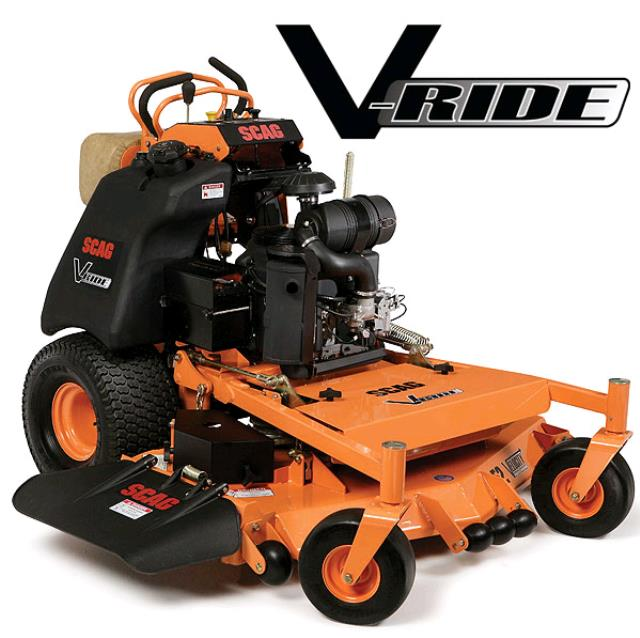Where to find Scag V-Ride 36  Stand-on Mower in Mount Vernon