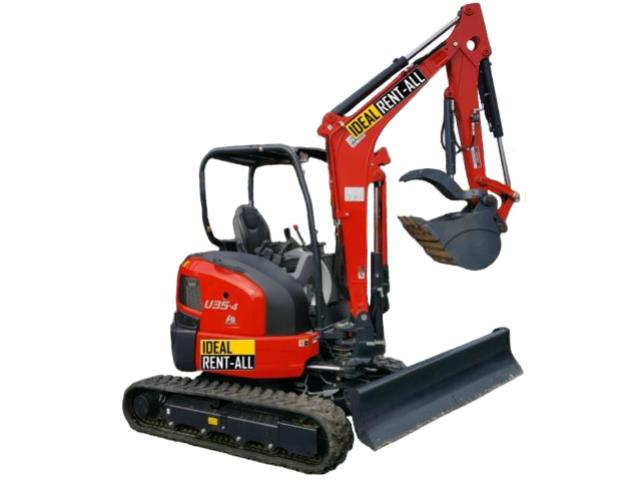 Where to find Excavator, Kubota U35-4 8400 lbs. in Mount Vernon