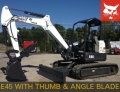Rental store for Excavator, Bobcat E45 w Thumb, 10,000lb in Mount Vernon WA
