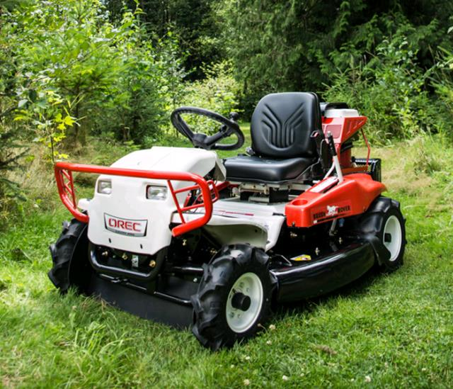 Where to find Mower, Riding Brush in Mount Vernon