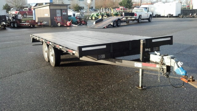 Where to find Trailer, Flat Deck - 18 in Mount Vernon