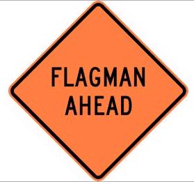Where to find Sign -  Flagman Ahead in Mount Vernon
