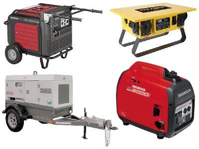 Rent Generator, Lighting & Accessory