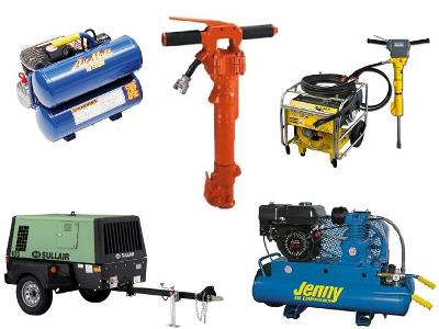 Rent Air Compressor & Hydraulic Tool